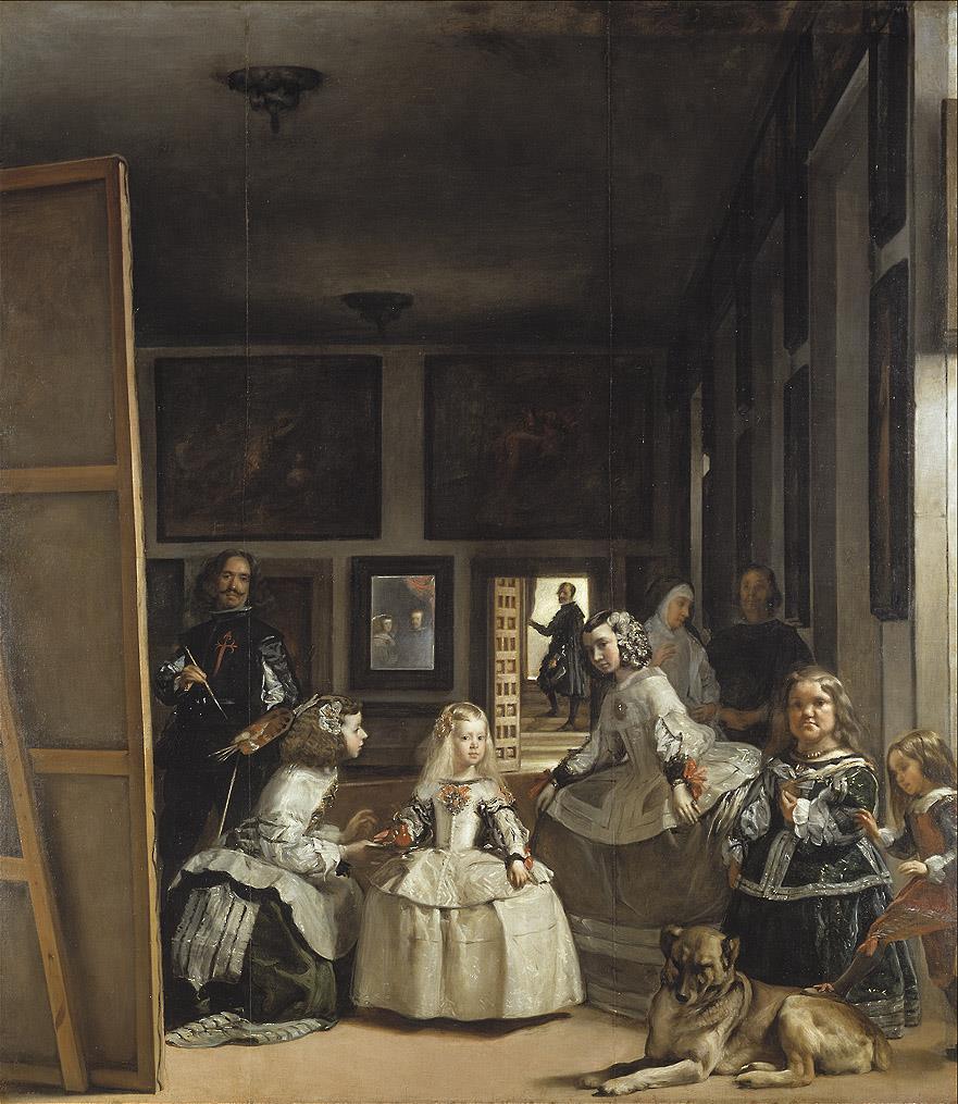 Meninas o la familia de Felipe IV, Las [Velázquez]