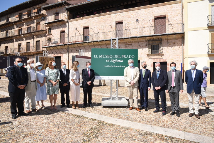 Sigüenza acoge la exposición 'El Prado en las calles' con reproducciones de sus obras más emblemáticas