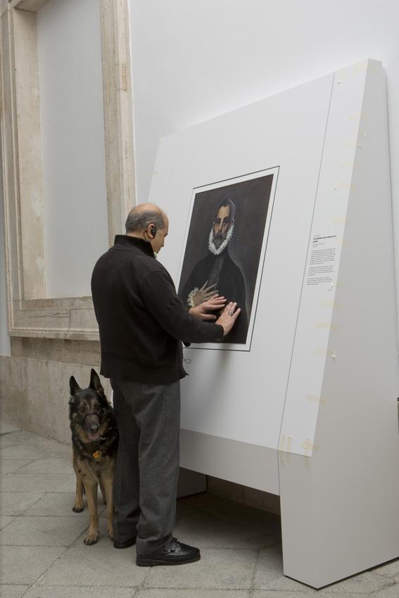 La accesibilidad en el Museo del Prado