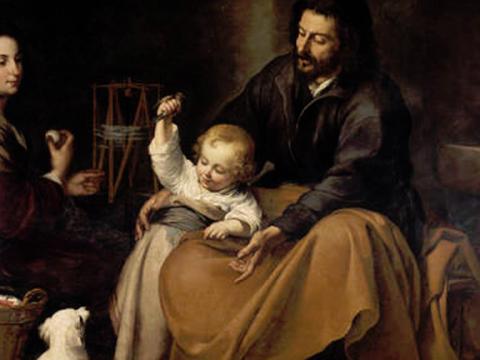 <em>Sagrada Familia del pajarito</em>, Bartolomé Esteban Murillo, comentada por Antonio Gala