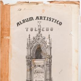 Portada de la sexta entrega del Álbum artístico de Toledo