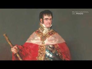 """""""Fernando VII con manto real"""", de Francisco de Goya"""
