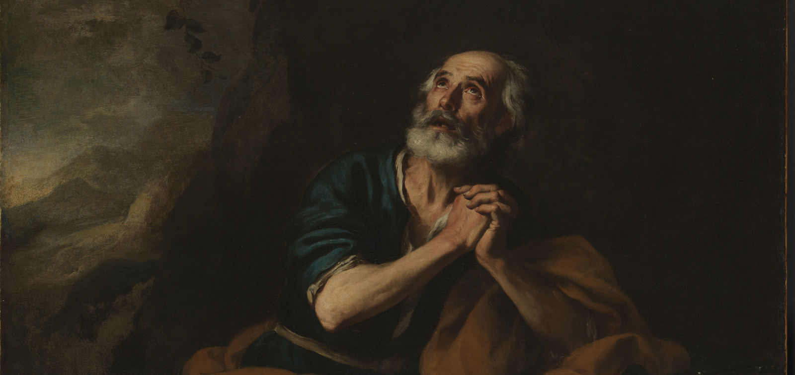 The Penitent St Peter of Los Venerables