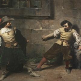 Un lance, siglo XVII