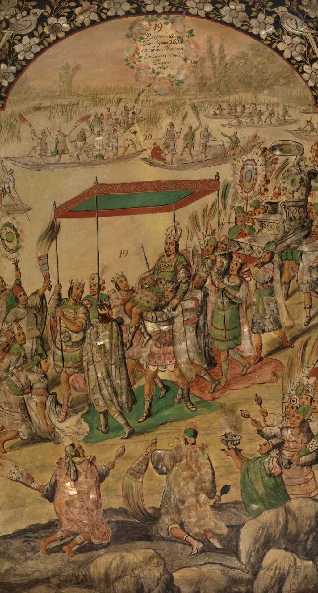Conquista De México Por Hernán Cortés 19 Y 20 Colección
