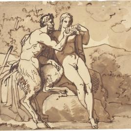 Marsias y Olimpo
