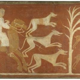 Hare Hunt, Hermitage of San Baudelio, Casillas de Berlanga (Soria)