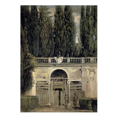 """The Medici Gardens in Rome"" Notebook"