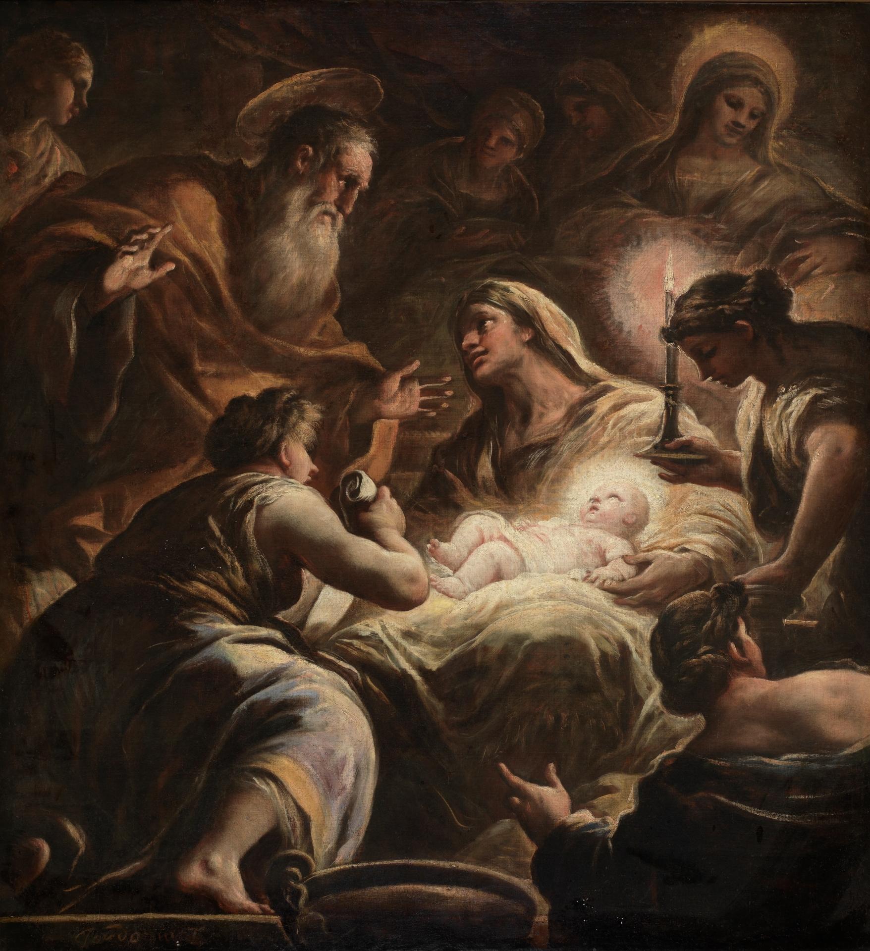 La Natividad de la Virgen - Colección - Museo Nacional del Prado