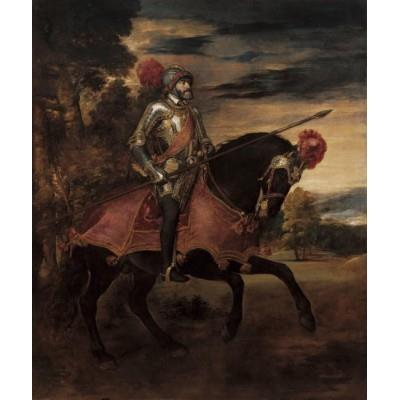 """Equestrian Portrait of Charles V at Mühlberg"""