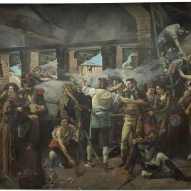 Defensa del Convento de Santa Engracia de Zaragoza, 1809