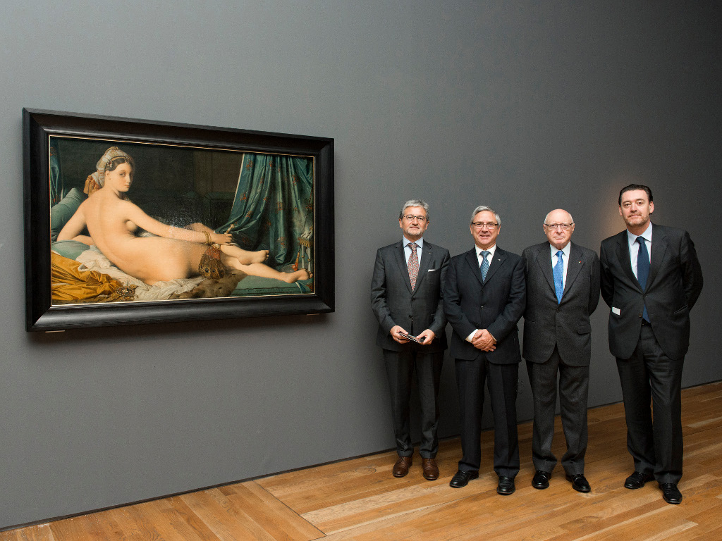 Se inicia la cuenta atrás para la inauguración de la exposición <em>Ingres</em> patrocinada por la Fundación AXA