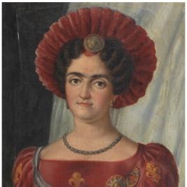 La infanta María Francisca de Asís