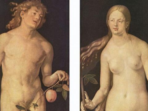 <em>Adán y Eva</em>, Alberto Durero, comentado por Gerardo Rueda