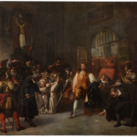 Prisión de don Fernando de Valenzuela (boceto)