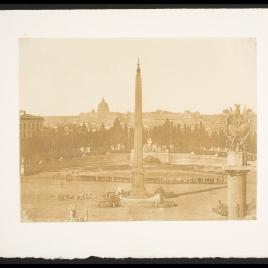 Panorama de Roma desde el Pincio