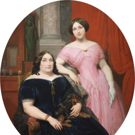 Magdalena Parrella y Urbieta and her Daughter, Elisa Tapia y Parrella