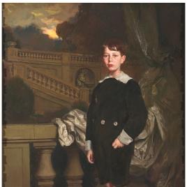 Antonio María Vitórica o Retrato del hijo de la condesa de los Moriles