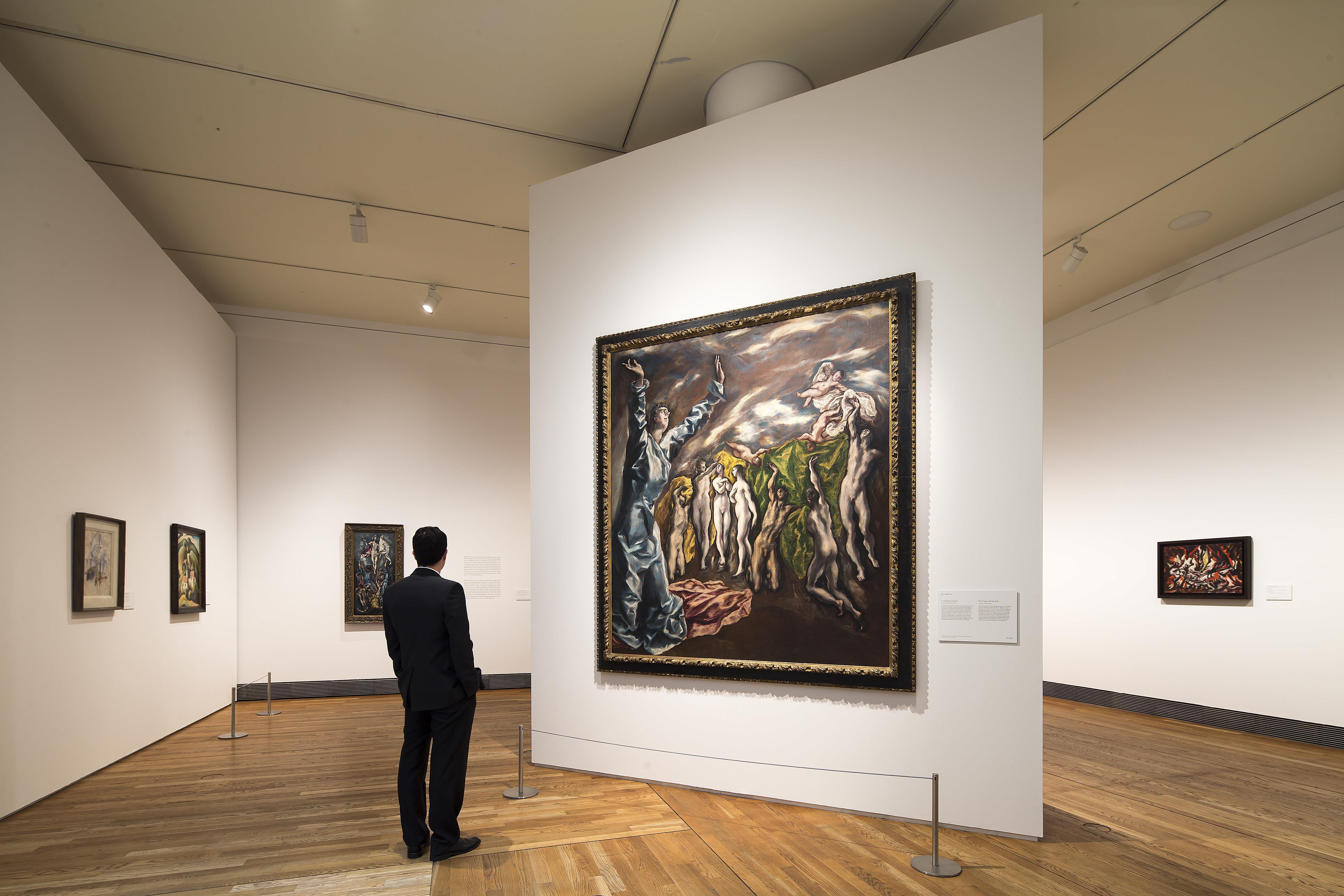 El diálogo entre el Greco y los pintores modernos en el Prado supera ya las 250.000 visitas
