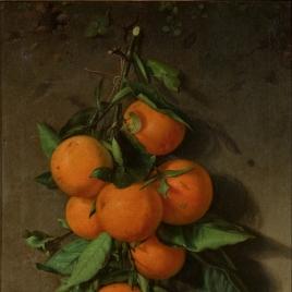 Un ramo de naranjas