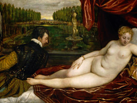 <em>Venus recreándose en la Música</em>, Vecellio Di Gregorio Tiziano, comentada por Luis Rodríguez Gordillo