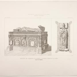 Sepulcro de Alfonso Carrillo de Acuña en la Universidad Complutense de Alcalá de Henares, Madrid