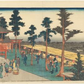 El templo de Myojin en Kanda (Kanda Myôjin)