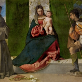 The Virgin and Child between Saints Anthony of Padua and Roch