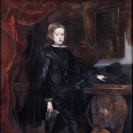 Carlos II, niño