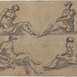Figuras sedentes
