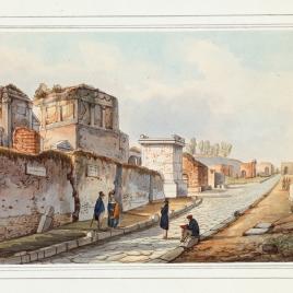 Strada delle tombe (Pompeya)