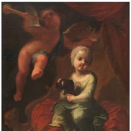 La infanta María Isabel de Nápoles, hija de Carlos III