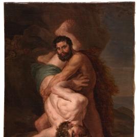 Hércules y Anteo