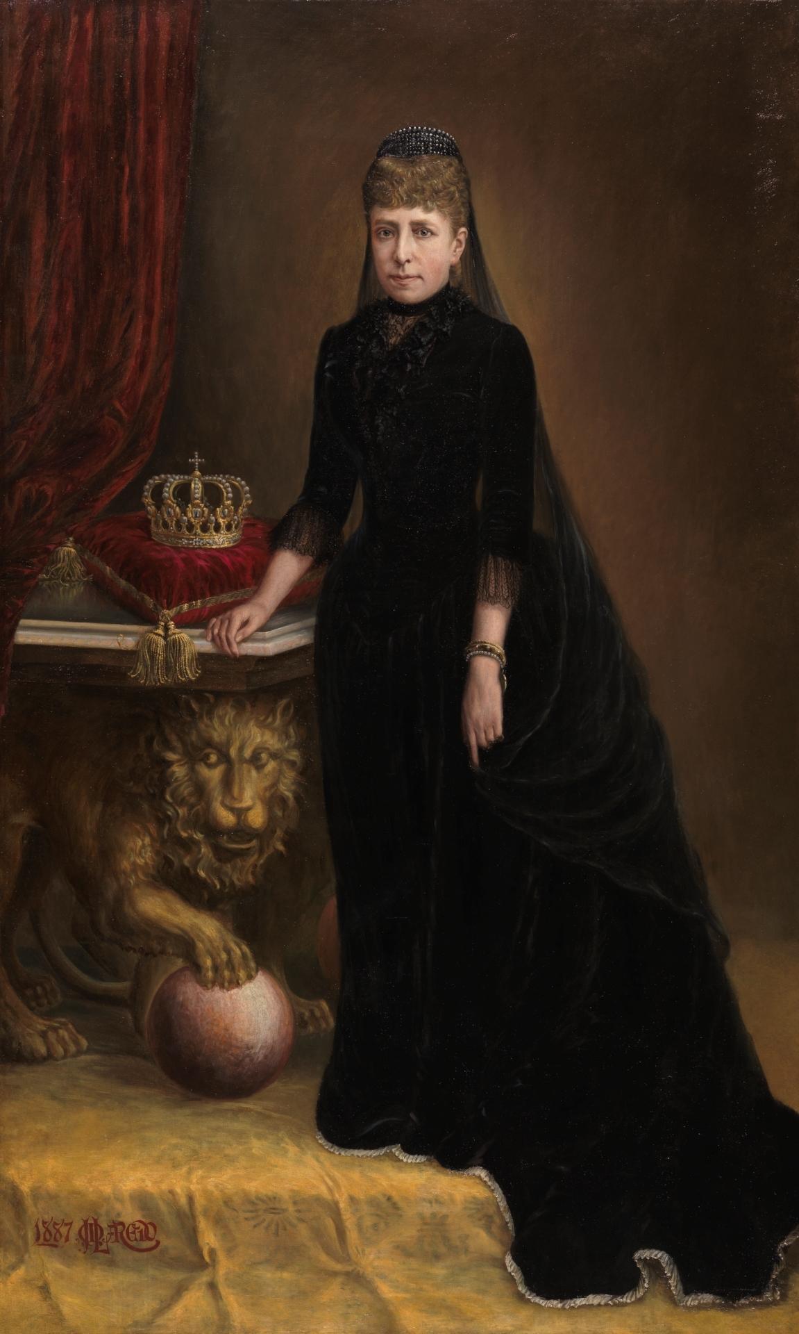 María Cristina de Habsburgo-Lorena - Colección - Museo Nacional ...