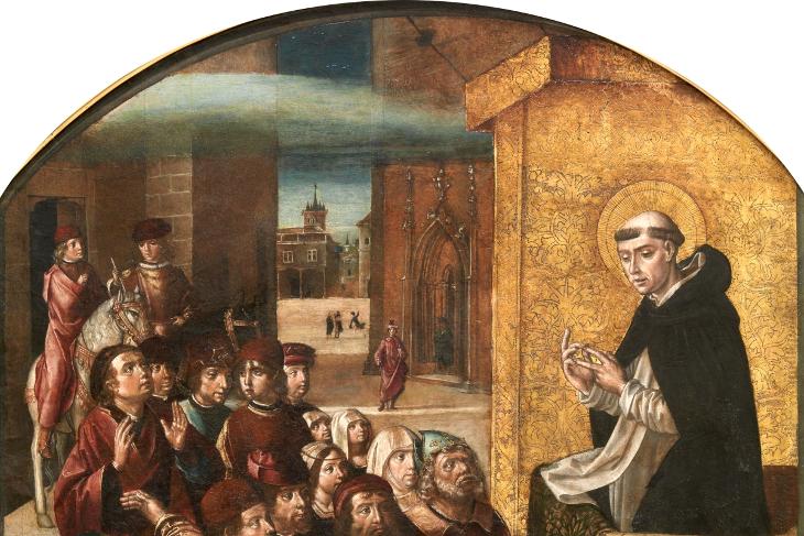 El Prado habla. Retablo de San Pedro Mártir de Verona, de Pedro Berruguete