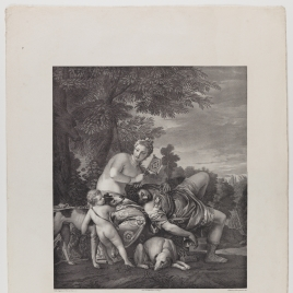 Venus y Adonis