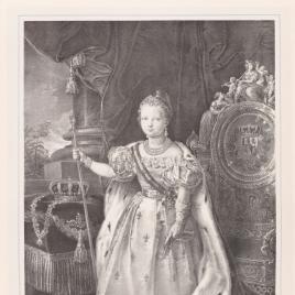 Isabel II niña