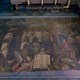 La Virgen, protectora de la Orden Trinitaria y Aparición de la Virgen a San Juan de Mata