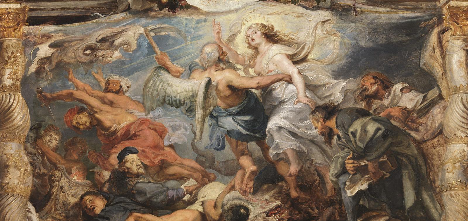 Rubens. El Triunfo de la Eucaristía