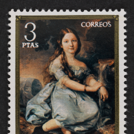 Serie de sellos Vicente López Portaña