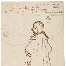 Caballero del siglo XVI / Dos apuntes de caballero del siglo XVI