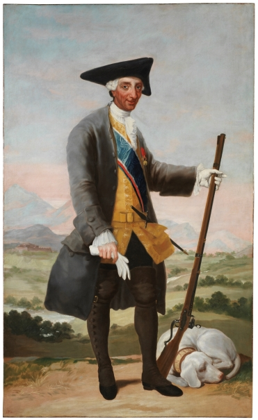 Charles III in Hunting Dress