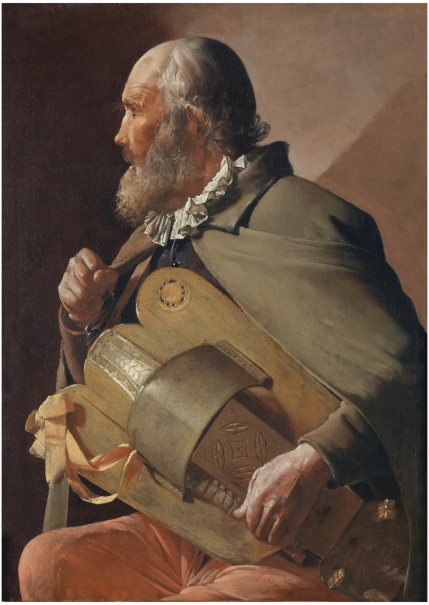 A Blind Hurdy-Gurdy Player