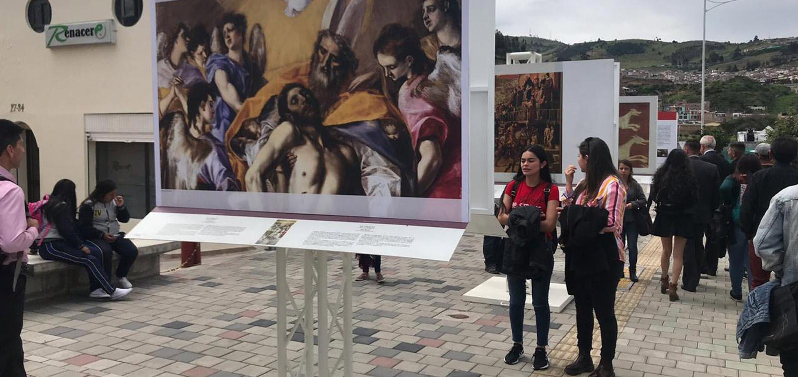 Exposición didáctica: El Prado en Pasto
