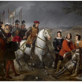 Gonzalo Fernández de Córdoba at the Battle of Cerignola