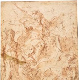 Los tres Arcángeles y el Ángel de la Guarda