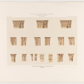 Capiteles del interior de la Catedral Vieja de Salamanca