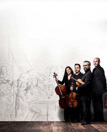 Heritage. La música de Madrid en los tiempos de Goya. Cuarteto Quiroga