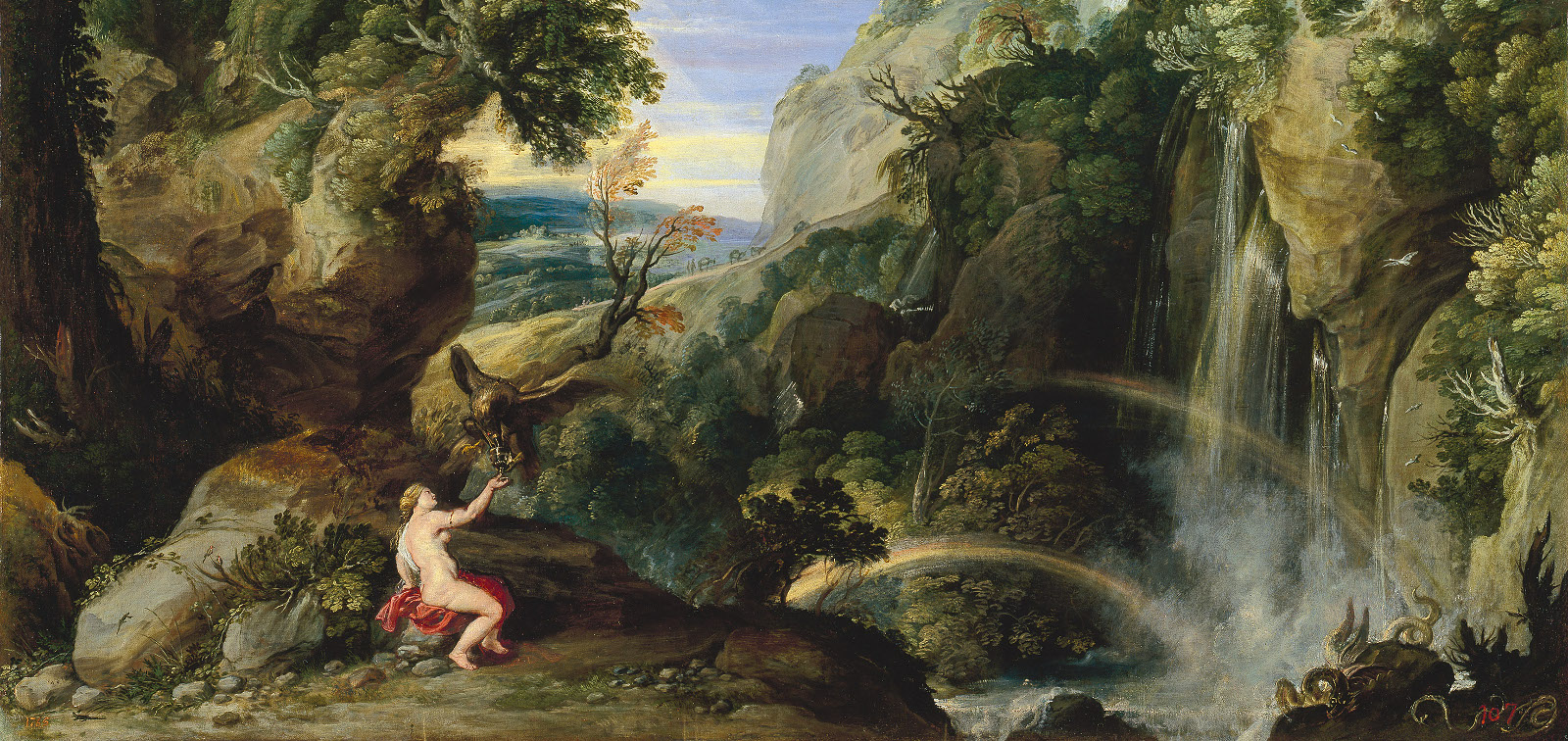 Rome: Nature and the Ideal. Landscapes 1600-1650