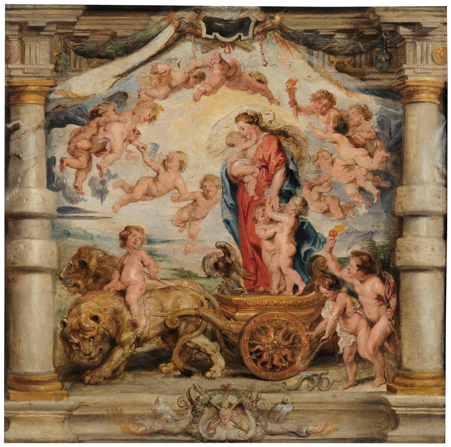 El triunfo del Amor Divino - Colección - Museo Nacional del Prado